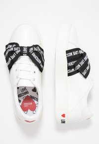 Love Moschino - Trainers - white - 3