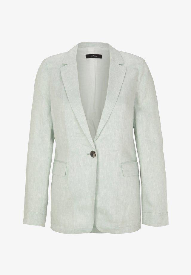 LANGARM - Halflange jas - light mint