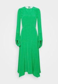 Victoria Beckham - HANKERCHIEF SLEEVE MIDI - Cocktailklänning - emerald green - 5