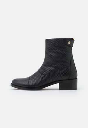 VIRGINIA SNAKE - Classic ankle boots - black