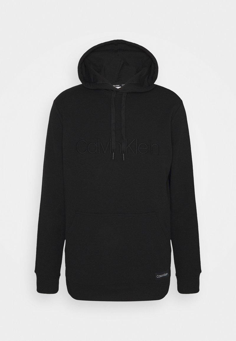 Calvin Klein Underwear - LOUNGE HOODIE - Hoodie - black