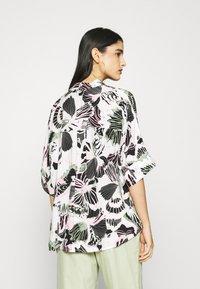 Monki - LUCA BLOUSE - Button-down blouse - white - 2