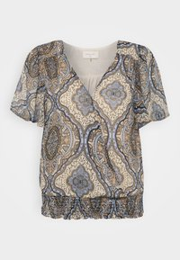 Freequent - NADY - T-shirts med print - chambray blue - 3