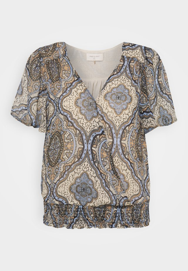 NADY - T-shirt print - chambray blue