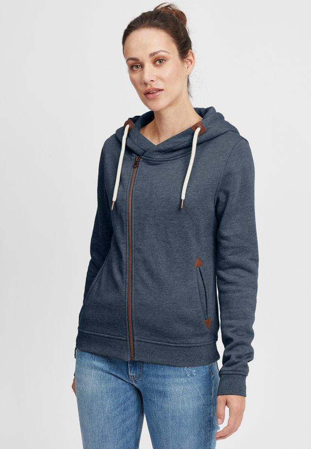 VICKY - veste en sweat zippée - ins bl mel