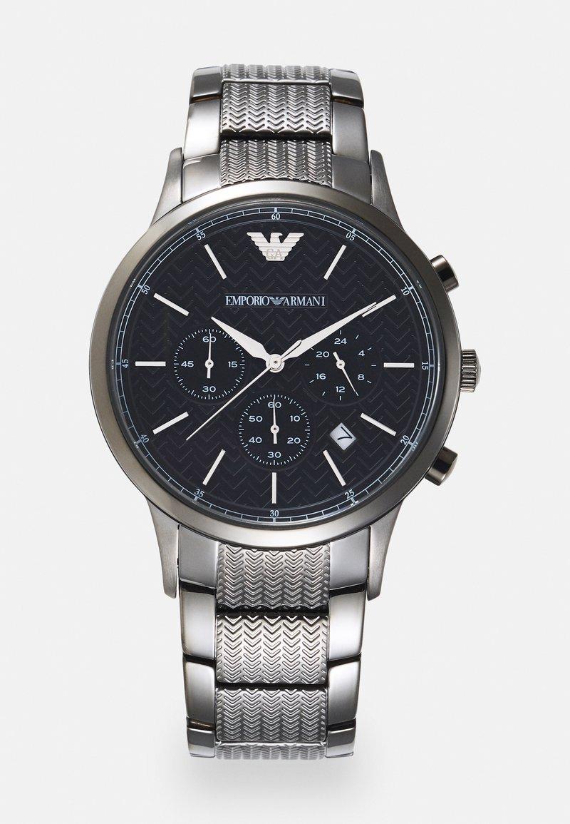 Emporio Armani - Chronograph watch - gunmetal