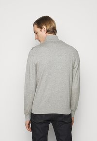 PS Paul Smith - MENS ZIP NECK ZEBRA - Jumper - grey - 2