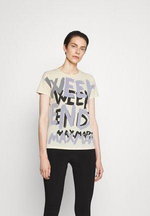 RANA - T-shirt z nadrukiem - ivory