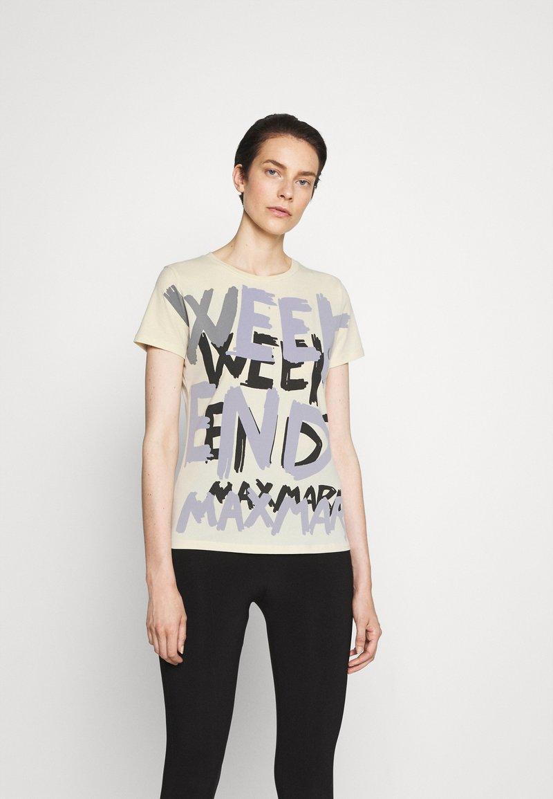 WEEKEND MaxMara - RANA - Print T-shirt - ivory