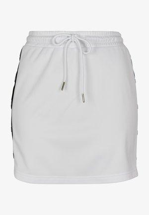 LADIES TRACK SKIRT - A-line skirt - white