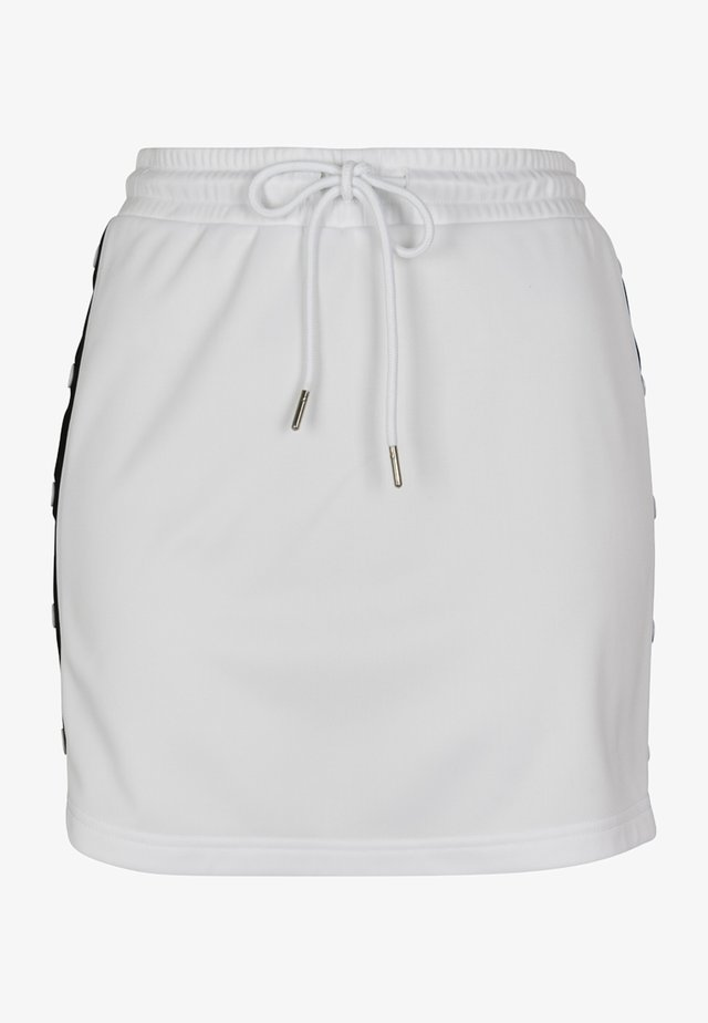 LADIES TRACK SKIRT - A-lijn rok - white