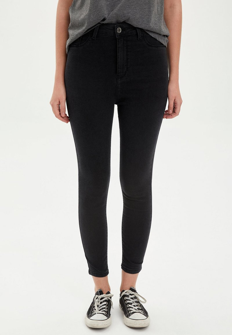DeFacto - Jeans Skinny Fit - anthracite