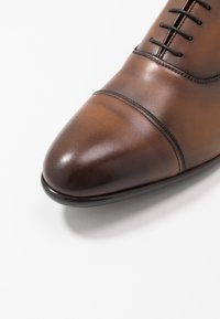 Doucal's - PISA - Smart lace-ups - radica brandy /testa di moro