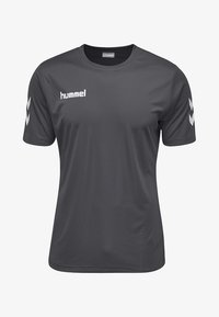 Hummel - CORE - Print T-shirt - asphalt - 0