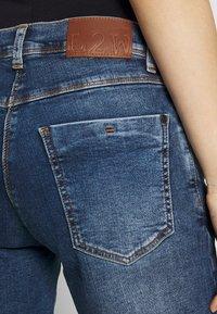 LOVE2WAIT - Denim shorts - stone wash - 5