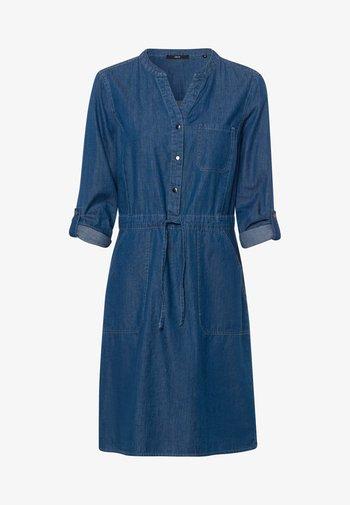 Denim dress - mid blue clean wash