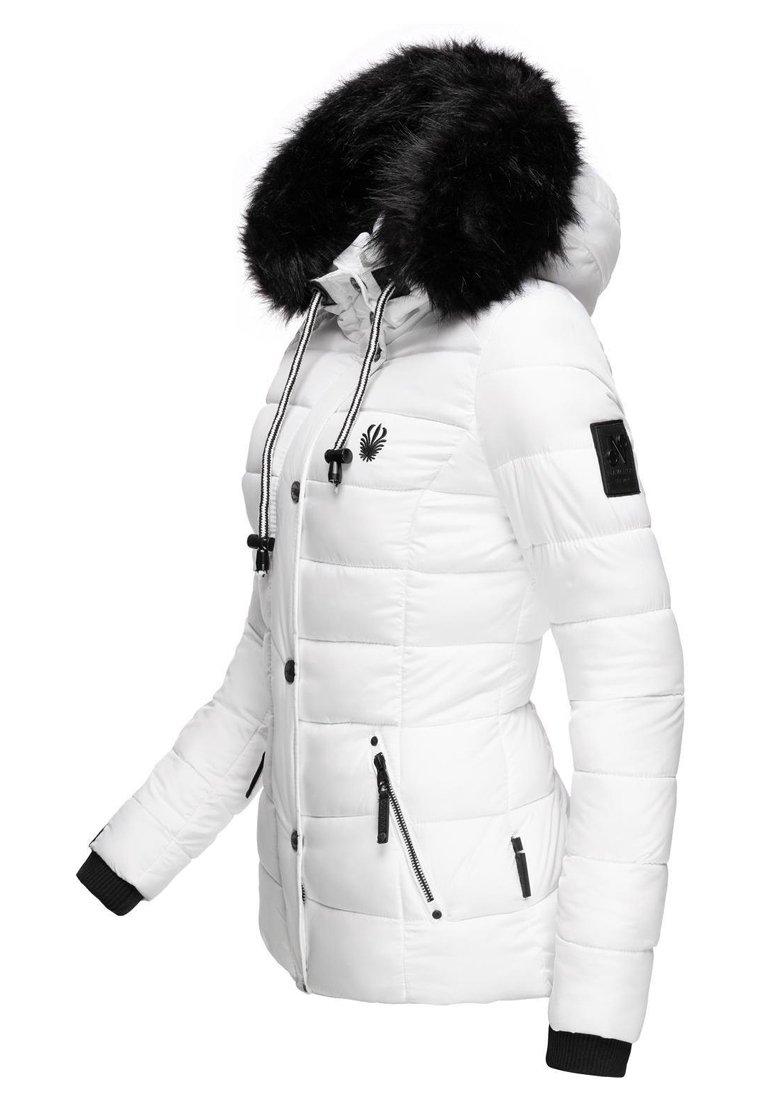 Navahoo ZUCKERBIENE - Winterjacke - white/weiß QdSWXJ