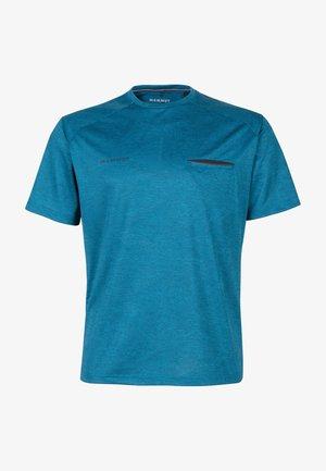 CRASHIANO - Basic T-shirt - sapphire melange