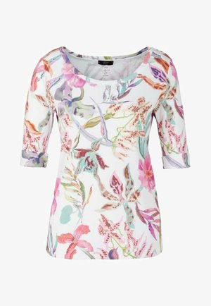 MIT ORCHIDEEN-PRINT - Print T-shirt - cosmea