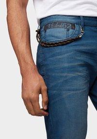 TOM TAILOR - Slim fit jeans - blue denim - 3