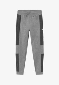 Nike Sportswear - Tracksuit bottoms - charcoal heather/grey heather/white - 2