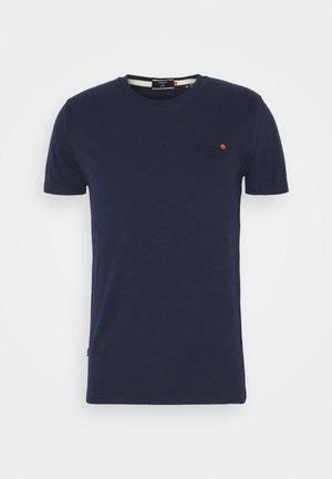 VINTAGE TEE - Basic T-shirt - rich navy
