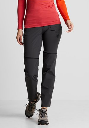 RUNBOLD ZIP OFF WOMEN - Outdoor trousers - phantom