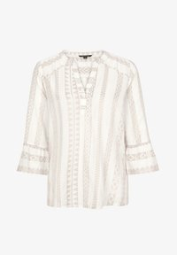 comma - Blouse - beige embroidery - 4