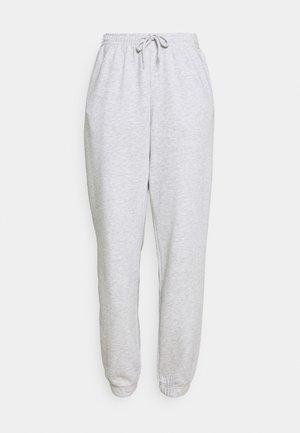 AMAZE - Pantalones deportivos - light grey melange