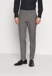 Isaac Dewhirst - RECYCLED MID TEXTURE - Oblek - grey - 4
