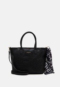 Desigual - BOLS ALEXANDRA HOLBOX MIN - Handbag - black - 0