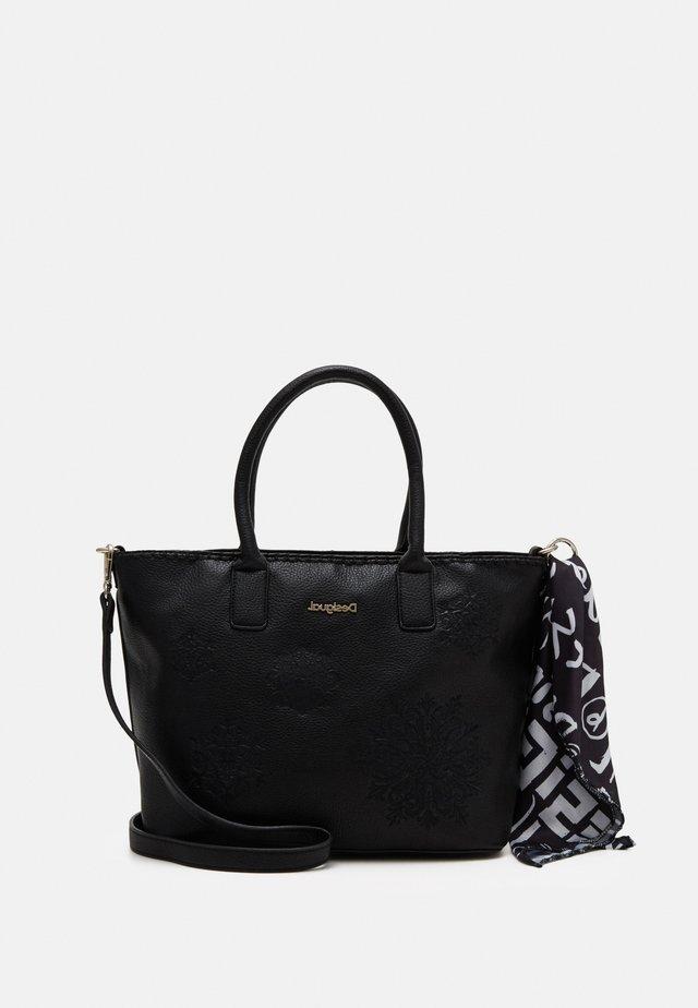 BOLS ALEXANDRA HOLBOX MIN - Handbag - black