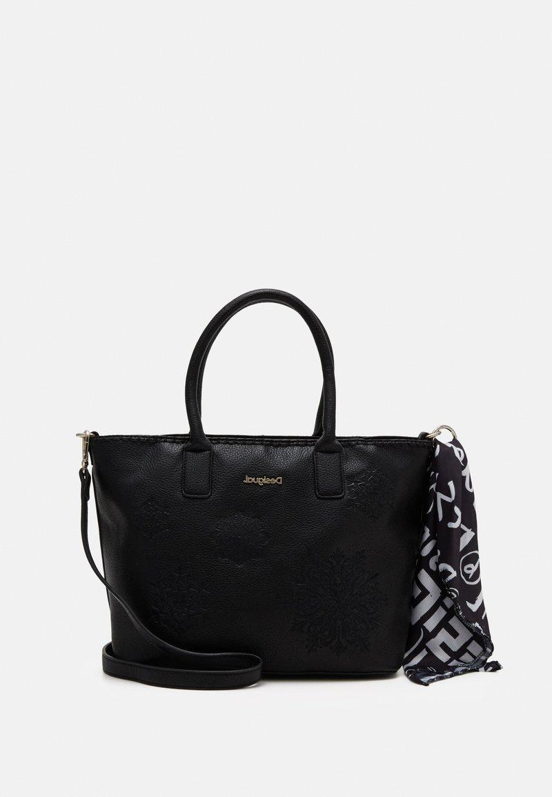 Desigual - BOLS ALEXANDRA HOLBOX MIN - Handbag - black