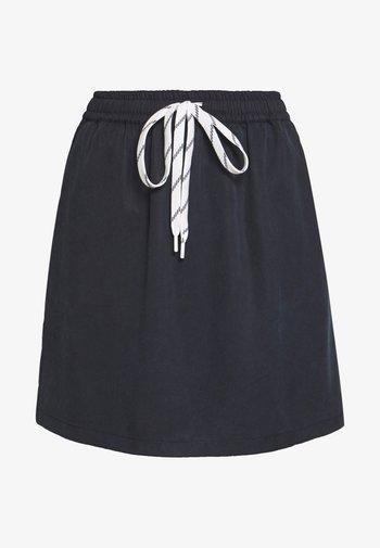SKIRT STRAPS INSIDE TUNNEL - Mini skirts  - scandinavian blue