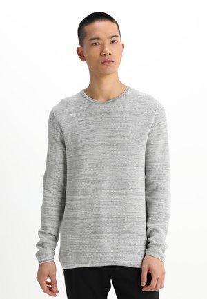 REISWOOD - Strikkegenser - light grey melange