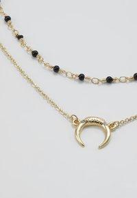 Pieces - Collar - gold-coloured/black - 4
