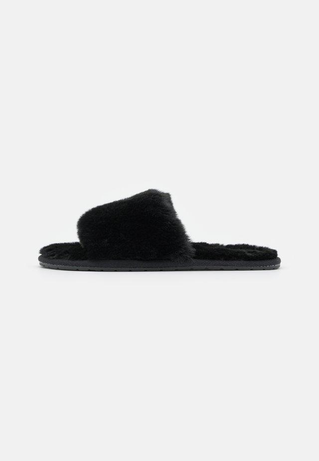 SATHIEL - Pantoffels - black