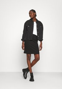 Calvin Klein Jeans - MICRO BRANDING - Mikina - bright white - 1