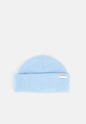MINI ROLL BEANIE WITH TAB UNISEX - Beanie - light blue