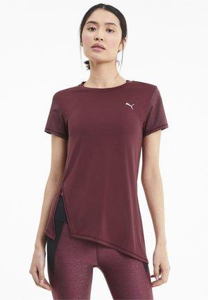 STUDIO METALLIC - Sports shirt - burgundy