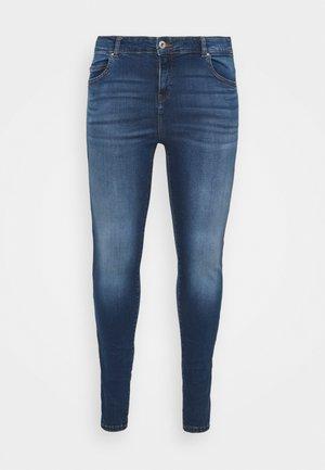 NMLUCY SKINNY JEANS CURV - Jeans Skinny Fit - medium blue