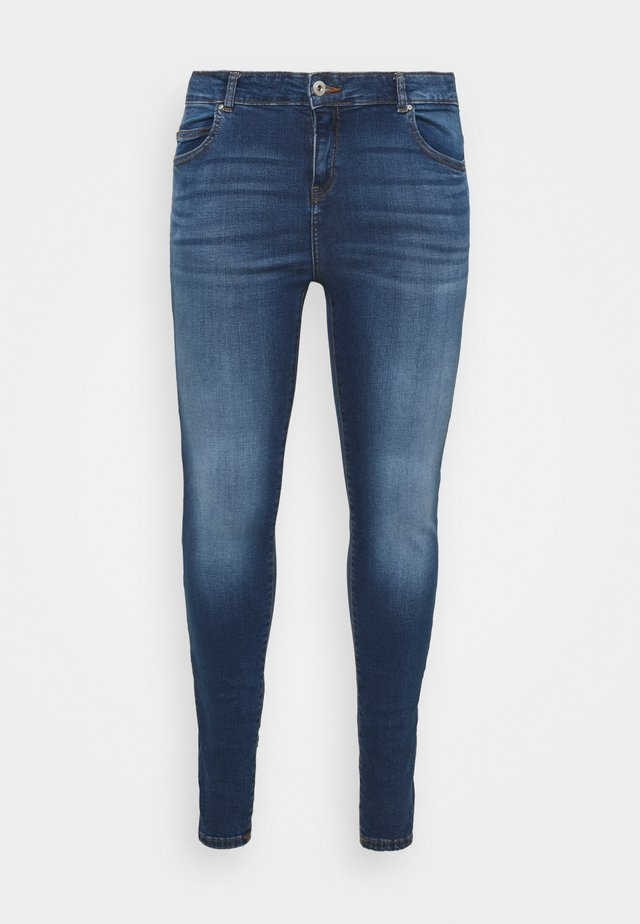 NMLUCY SKINNY JEANS CURV - Jeans Skinny Fit - medium blue