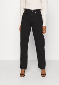 Gina Tricot - 90S HIGH WAIST - Jeans baggy - black - 0