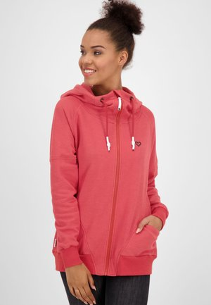 MARIAAK  - Zip-up hoodie - red