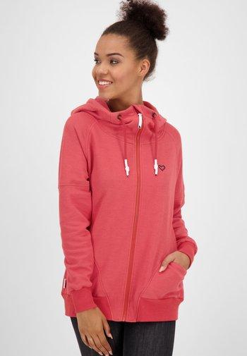 MARIAAK  - Zip-up sweatshirt - red