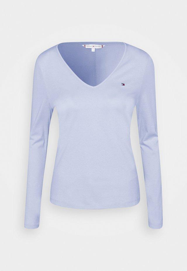 REGULAR CLASSIC - Top sdlouhým rukávem - breezy blue