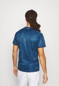 adidas Performance - TEE  - Print T-shirt - blue - 2