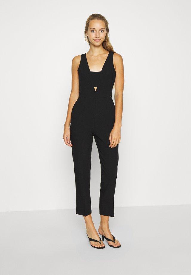 PEONIA - Overall / Jumpsuit - black