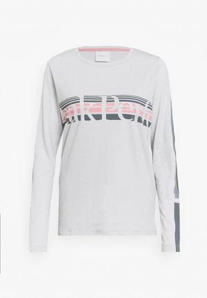 EXPLORE LONG SLEEVE - Long sleeved top - steam gray