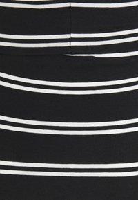 MAMALICIOUS - MLSIA SKIRT - Pencil skirt - black/snow white - 2